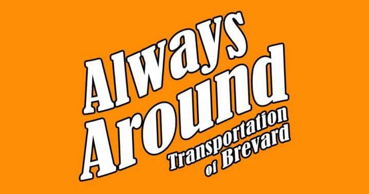 Always Around Transportation Background Logo