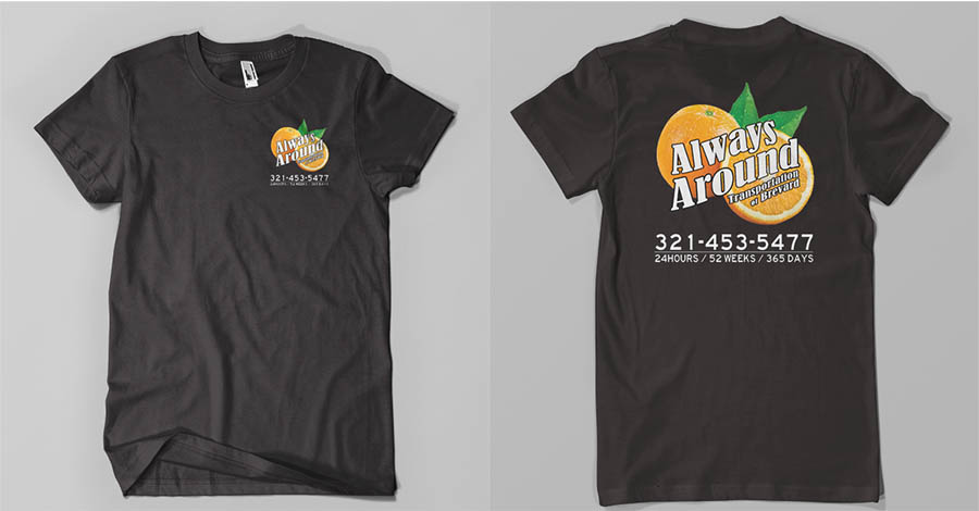 Always Around Transportation T-Shirt