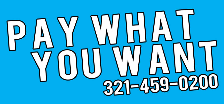 pay what you want taxi logo